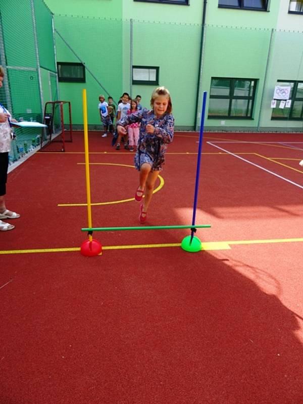 Olympiáda v berounské školní družině v Závodí.