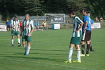 Slavoj držel naději do poločasu, pak přidalo Hořovicko ještě dva góly.