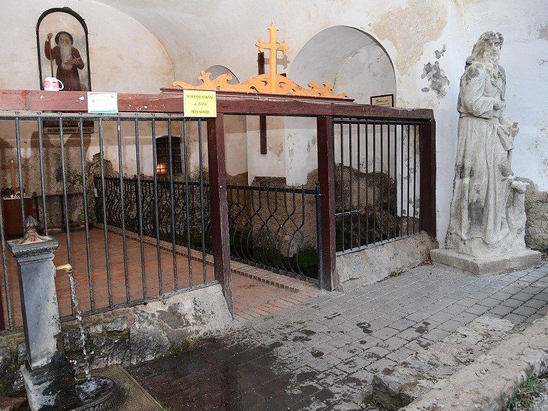 Vánoční zastavení ve Svatém Janu pod Skalou.