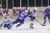 Z utkání první hokejové ligy Chomutov - Beroun (5:1).