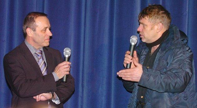Režisér Tomáš Vorel přijel do Berouna na slavnostní otevření, aby představil svůj film