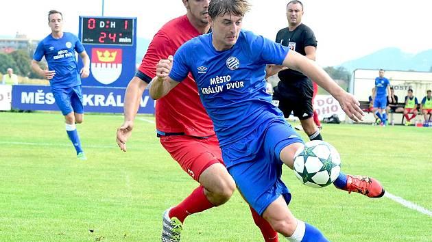 Králodvorský Martin Šlapák už vstřelil pět gólů.