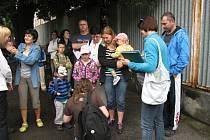 Táborníci z Berounska míří na Malou Střelu