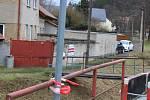V Zahořanech už přibyly další metry chodníků kolem hlavního silničního tahu.