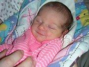 KATEŘINA Tenkrátová z Berounska prvně pohlédla na svět ve čtvrtek 4. ledna 2018. Kačence sestřičky na porodním sále navážily rovné 3 kg a naměřily 49 cm. Křestní jméno pro prvorozenou dcerku vybral tatínek.