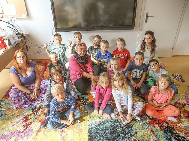 Základní škola vTetíně: třída 1.A.