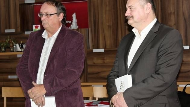 Křest knihy Autogramy osobností Berounska a Hořovicka