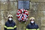 Berounští hasiči uctili památku utonulých kolegů.