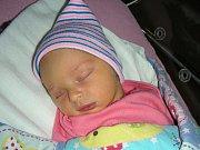 MAMINKA Lucie Říhová z Tmaně přivedla na svět 9. prosince 2017 prvorozenou dceru Viktorii a manžel Viktor jí byl na porodním sále po celou dobu velkou oporou. Viktorce sestřičky na porodním sále navážily 3,60 kg.