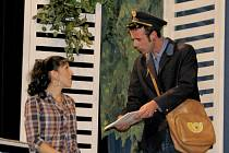 Divadelní hra Amant v podání broumského souboru
