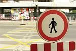 Přechod pro chodce je z důvodu bezpečnosti uzavřen.