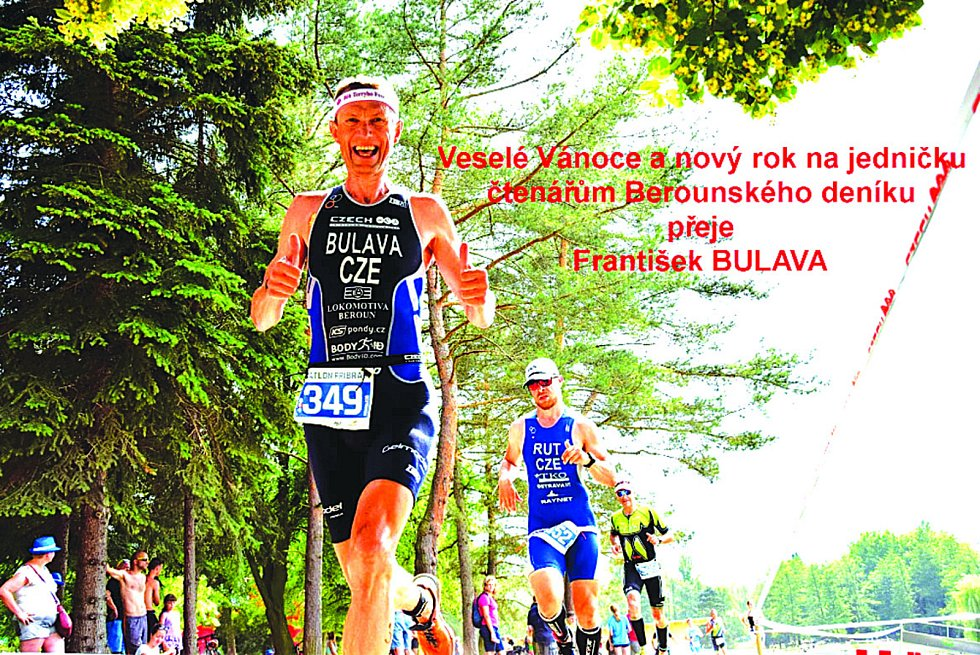 Triatlet berounské Lokomotivy měl úspěšný rok.