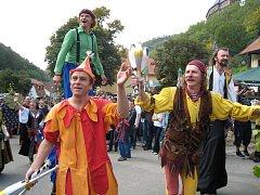 Karlštejnské vinobraní si nenechaly ujít tisíce lidí