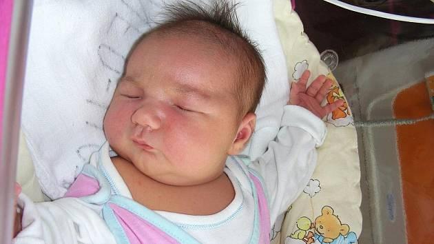 Krásnou váhou 4,64 kg a mírou 52 cm se mohla ve čtvrtek 9. září pochlubit holčička Gabriela Petica, dcerka maminky Any a tatínka Valeria z Cerhovic – Třenice. Vyrůstat a hrát si bude Gábinka s bratříčkem Valeriem (4,5).