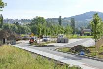 Nové P+R parkoviště Na Podole.