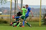 Poměrem 0:1 prohráli fotbalisté Hostomic v I. B třídě s Dobříčí.