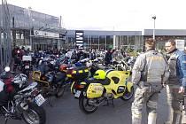 Řevničtí záchránáři doprovodili motorkáře při zahájení sezóny