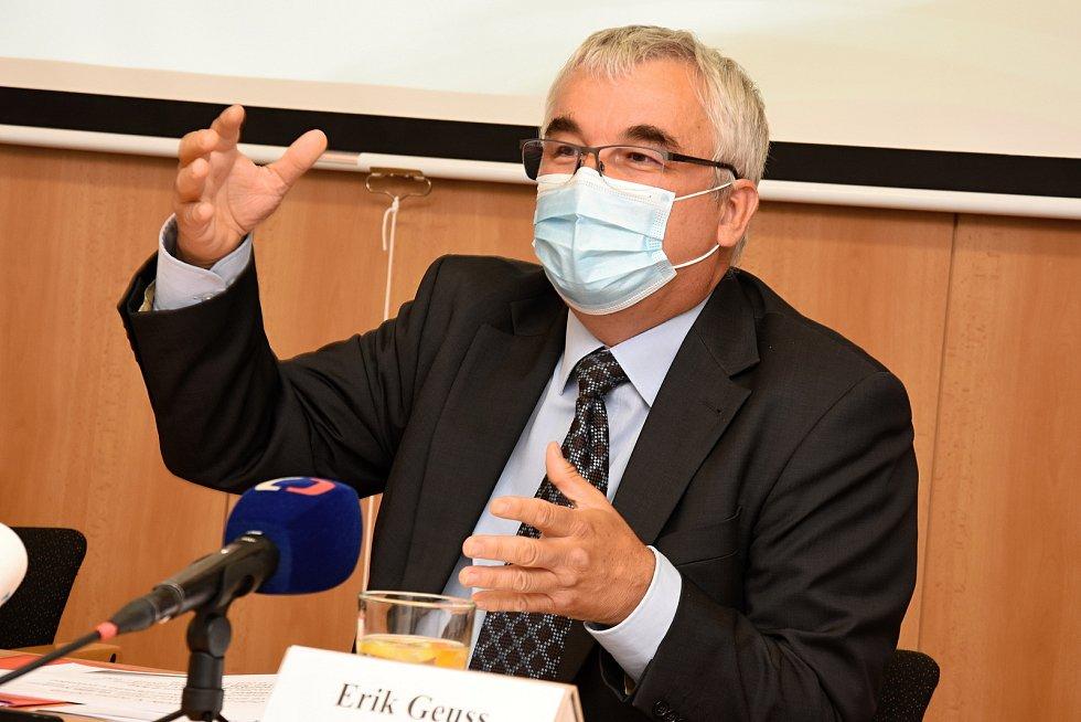 Ředitel České inspekce životního prostředí Erik Geuss