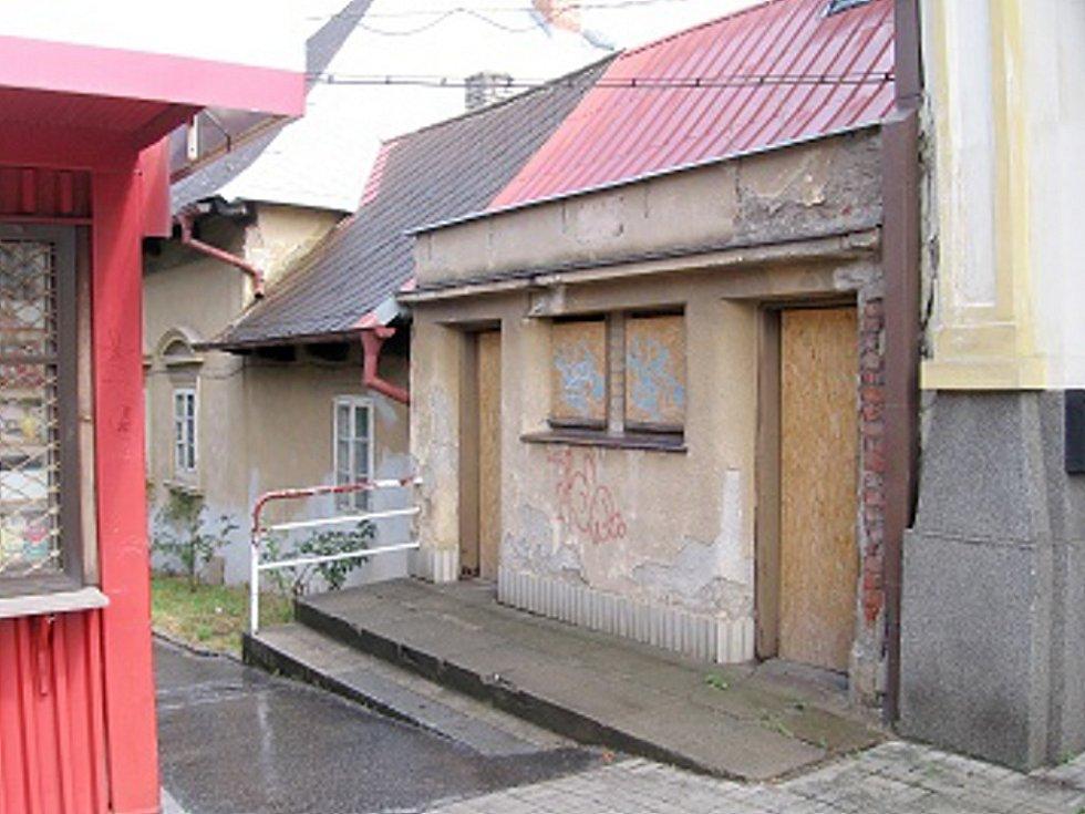 Budoucí veřejné toalety Hořovice - rok 2008
