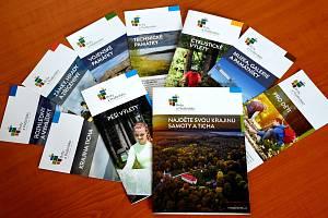 Nové propagační materiály turistické oblasti Brdy a Podbrdsko.