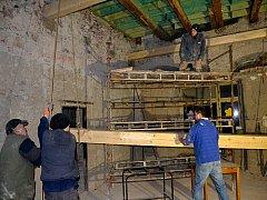 Renovace Zděné v Zaječově pokračuje