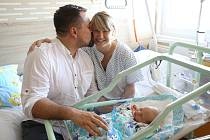Ondřej Fischl se narodil v hořovické porodnici 1. září ve 3:11. Vážil 3570 gramů a měřil 51 centimetrů. Domů do Rakovníka si ho odveze maminka Kateřina a tatínek Ondřej