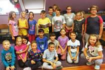 Projekt 'Celé Česko čte dětem' v závodské školní družině v Berouně.