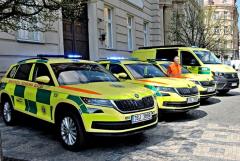 Vozový park středočeských záchranářů posílí tři nové Kodiaqy a vozidlo pro mimořádné události
