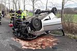 Automobil u obci Podluhy narazil do stromu.