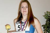 Justýna Holubová.