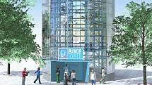 Vizualizace cyklověže v Berouně.