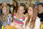 Kateřina Neumannová navštívila základní školu v Suchomastech