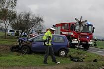 Nehoda v obci Neumětely