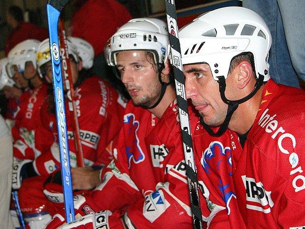 Berounští hokejisté na své půdě podlehli Kadani