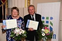 Ze slavnostního předání Ceny města 2019 v Kulturním domě Plzeňka v Berouně.