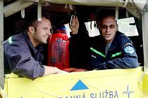 Záchranáři a hasiči připomněli deset let od povodní