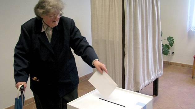 Volby do Evropského parlamentu na Vráži