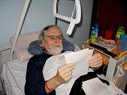 Příležitost dostali voliči i v hořovické nemocnici