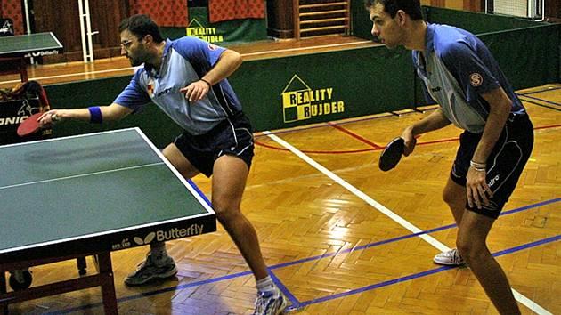 Soutěže stolních tenistů pokračovaly v krajských soutěžích dalšími dvěma koly.