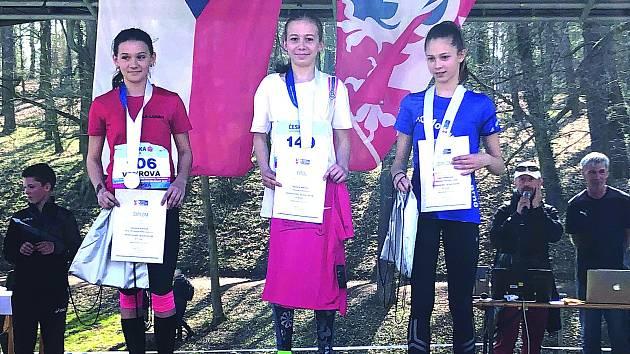 Barbora Míková vystoupila na první místo při českém šampionátu.