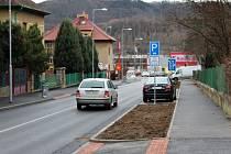 Otevření zrekonstruovaných ulic Preislerova a Kollárova v Berouně.