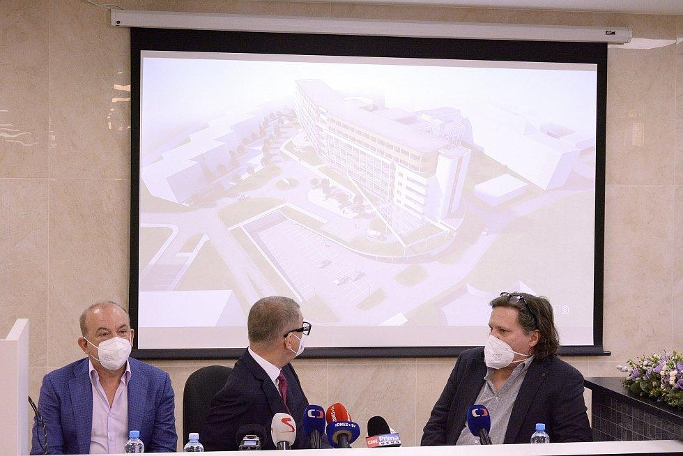 Představení budoucího areálu hořovické nemocnice.