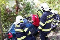 Nehoda u Karlštejna