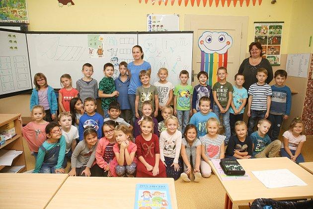 Základní škola vKrálově Dvoře: třída 1.B.
