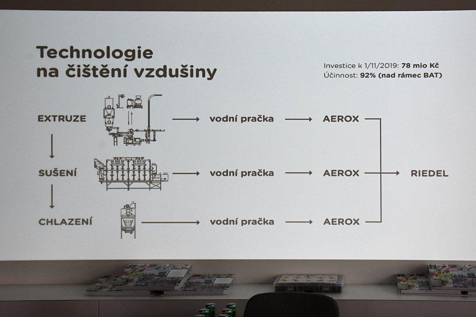 Z prohlídky společnosti Vafo Praha působící v Chrášťanech na Praze-západ.
