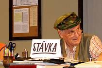 Vedoucí Divadelního spolku K.J.Erbena Žebrák František Lorenc