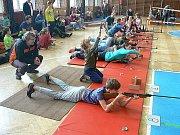 Berounskou vzduchovku uspořádal Klub biatlonu Beroun.