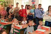 První školní den v Králově Dvoře