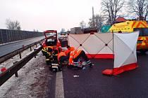Nehoda na dálnici D5
