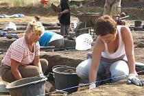 Archeologický výzkum u Hořovic
